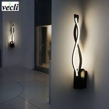 LED <b>Wall Lamp Modern</b> Bedroom Beside Reading <b>Wall Light Indoor</b> ...