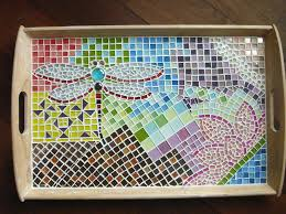 Making a Mosaic Tray for the First Time