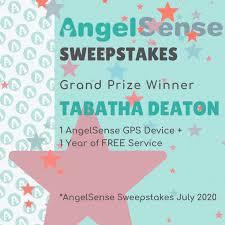 AngelSense - Protecting Children - AngelSense Sweepstakes Winner ...