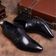 <b>OMDE</b> New Arrival Pointed Toe Loafers Genuine Leather Formal ...