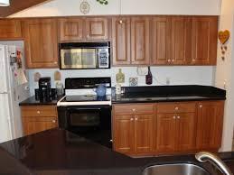 Hard Maple Wood Espresso Raised Door Kitchen Cabinet Refinishing Cost  Backsplash Subway Tile Stone Granite Countertops
