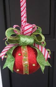 Christmas Decoration Kissing Ball Ornament. Easy to put together with a  Styrofoam ball or cheap
