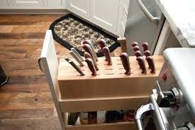 kitchen knife storage solutions cabinets remodeling best safe ideas