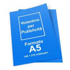 Formati Brochure Volantino Pubblicitario A5 La Miglior Offerta Per Questo Formato