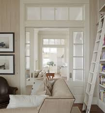 interior french doors transom. Built In Book Shelves With Ladder, Transom Interior Windows, Living Room. Photo By. Sliding Pocket DoorsFrench French Doors