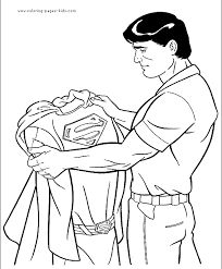 Small Picture Superman Cartoon Coloring Page EasyCartoonPrintable Coloring