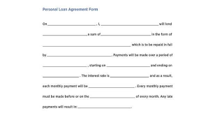 Check out all the pros and cons of p2p p2p lending websites and apps make it possible to lend money simply sitting in your armchair. Free 8 Personal Loan Agreement Forms In Pdf Ms Word