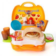 <b>Чудо</b>-<b>чемоданчик</b> Пиццерия 23 предмета <b>ABtoys</b> — купить в ...