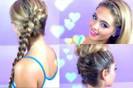 Quick Hairstyles For Braids 3 Quick And Easy Hairstyles Summer Hair Braided Hair Youtube