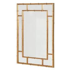 gold bamboo mirror. Gold Bamboo Mirror M