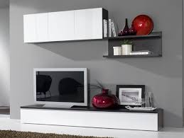 Composition Murale Tv Design Blanc Laqu Weng Portino Banc Tv Meuble Tv Wenge Design Pas Cher