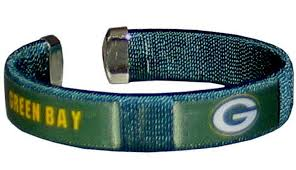 official nfl green bay packers fan fashion band bracelet 0