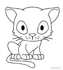 Free Coloring Pages Of Cats And Dogs At Getdrawingscom Free For