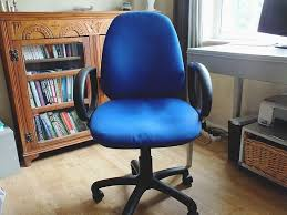 office chair reupholstery. How To Reupholster An Office Chair - Before Reupholstery