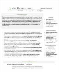 Retail Pharmacist Resume Best Latest Resume Examples Outpatient