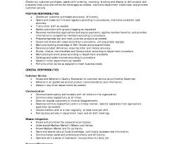Assembler Job Description For Resume Cashier Duties And Responsibilities Resume Retail Inside Jobption 86