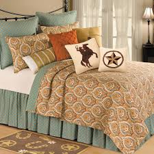 classic bedroom ideas with green brown elegant motifs pillows and valencia quilt bedding set bedroom