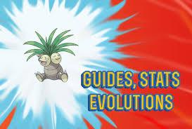 Exeggcute Evolution Chart Pokemon Lets Go Exeggutor Guide Stats Locations