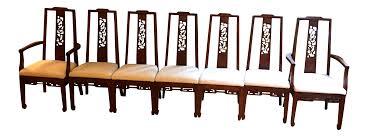 asian influenced furniture. Bathroom, Archaicfair Ricardo Lynn Mid Century Asian Dining Chairs S Chairish Henredon Style Ecc Eda Influenced Furniture O