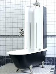 clawfoot tubs shower enclosures destiny tub