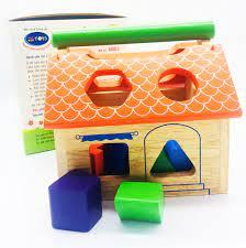 Đồ chơi gỗ phát triển trí tuệ: Nhà thả khối - P513340 | Sàn thương mại điện  tử của khách hàng Viettelpost