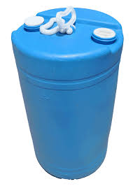 20 gallon blue recon plastic drum closedtop u003cfont coloru003d gallon bucket95