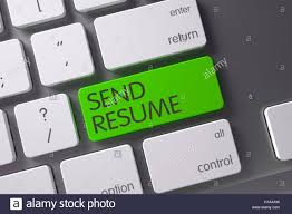 Green Send Resume Button On Keyboard 3d Stock Photo Royalty Free