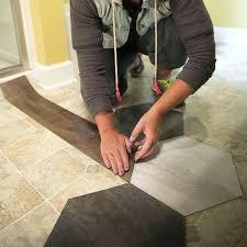 hexagon vinyl flooring create a pattern on the floor hexagon vinyl sheet flooring hexagon vinyl flooring