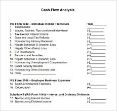 Simple Cash Flows Free 13 Sample Cash Flow Statements In Pdf Word