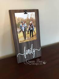 family picture frame family frame picture frame gift idea family gift idea frames display photos photo hanger wall decor rustic decor