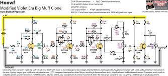 big muff pi versions and schematics hoof schematic