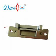 600kg holding force european narrow type lock and adjustable electric strike suitable for wooden door metal