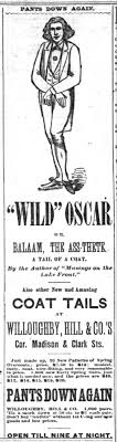 oscar wilde s pants down again oscar wilde in america blog the inter ocean tue jan 31 1882 middot npg p1133 oscar wilde