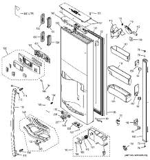 lg refrigerator parts diagram. replacement parts by section / assembly diagram lg refrigerator 2