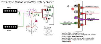 3 way rotary switch guitar wiring wiring diagrams how to do craig anderton 39 s 5 way tele wiring a 6 rotary 4 position rotary switch wiring diagram strat schematic