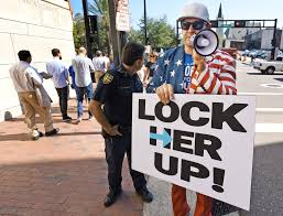 Hemming Park Counter Protester Gary Snow Is No Stranger To