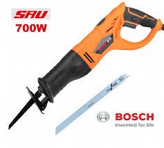 electric metal saw. sru electric reciprocating saw 750w + bosch metal blade 30cm a