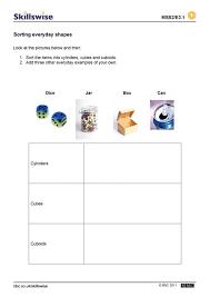 2 D Shapes Worksheet Shapes Worksheets Grade 2 Shapes Worksheets ...