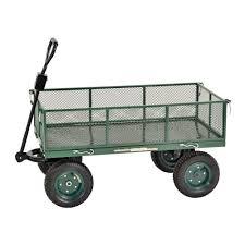 folding garden cart. W Utility Cart-CW4824 - The Home Depot Folding Garden Cart
