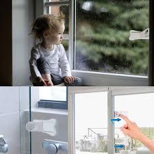 Kindersicherung Für Fenster Foccts 2 Stück Kinder Schiebetür Sperren