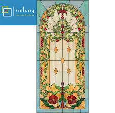 sl16 y972 glass window inserts for front door