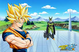 Goku Vs Cell Wallpapers - Top Free Goku ...