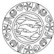 Coloriage Mandala Dauphin Coloriage L Duilawyerlosangeles