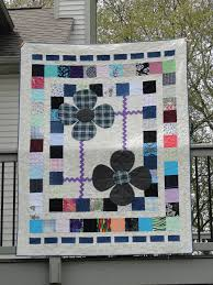Memorial Quilt made from parent's clothes. Great idea for those ... & I finally finished two memorial quilts – one each for my brother and sister  (with one still left to make). I was able to deliver them last weekend when  I ... Adamdwight.com
