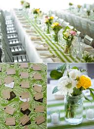 Real Wedding: Alison & Eddie. Green TableSimple ...
