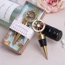 How To Make Decorative Wine Bottle Stoppers 100 pieceslotWedding Favors Decoration Vintage Bronze Bottle 44