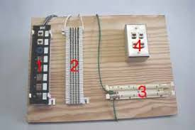vdv works virtual hands on training utp termination the 110 block 3 provides an interconnection between patch panels 1 and work area outlets 4