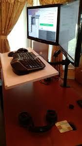 diy sit stand desk juan treminio dallas based senior web developer intended for amazing home diy sit stand desk ideas