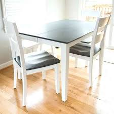 gray wood dining table. White And Gray Dining Table With Grey Wood Stained Top Legs A