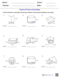 Volume Of Irregular Shapes Worksheet Worksheets for all | Download ...